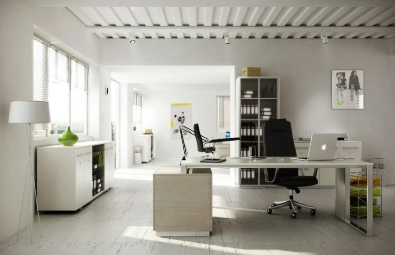 Kantoor aan huis aanbouwen sfeer en living
