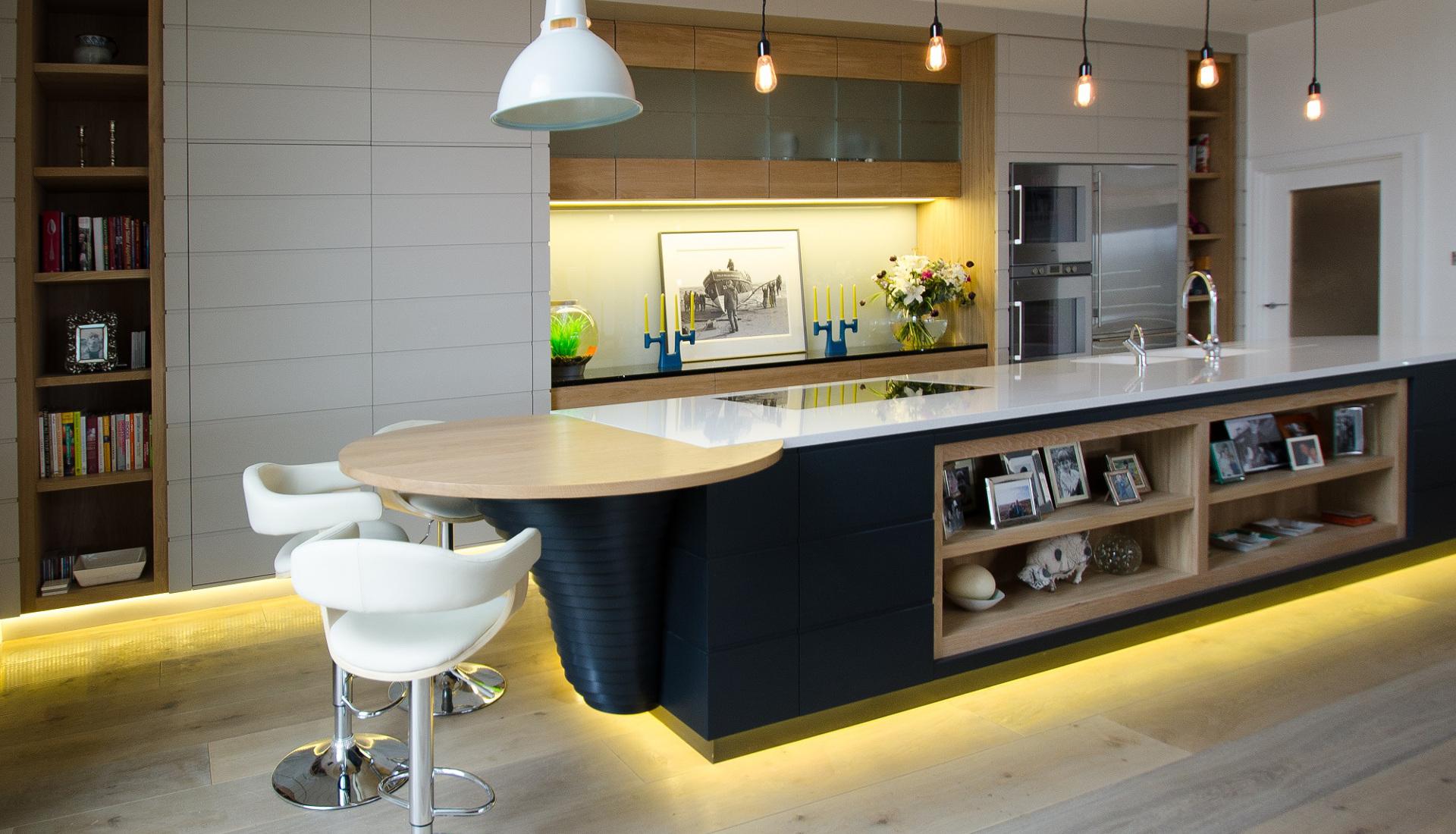Showroom Badkamer Utrecht ~ Picture idea 37  Voorpagina keuken onderkast verlichting opbouw staal