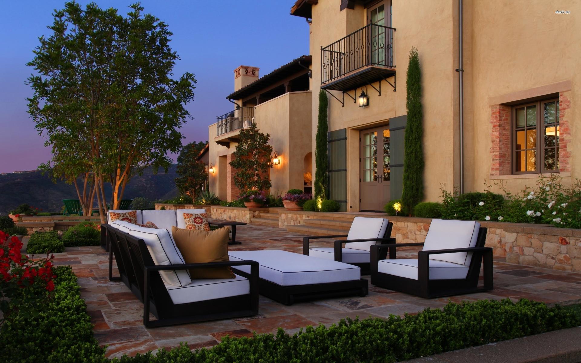 Een gezellig terras zorgt voor urenlang buitenplezier