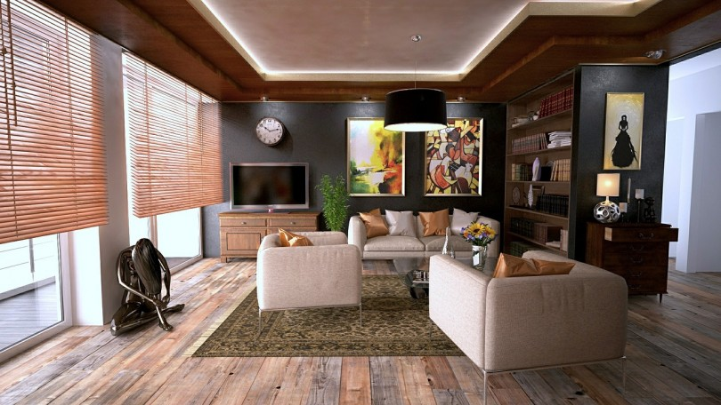 Moderne woonkamer inrichting. - Sfeer en Living