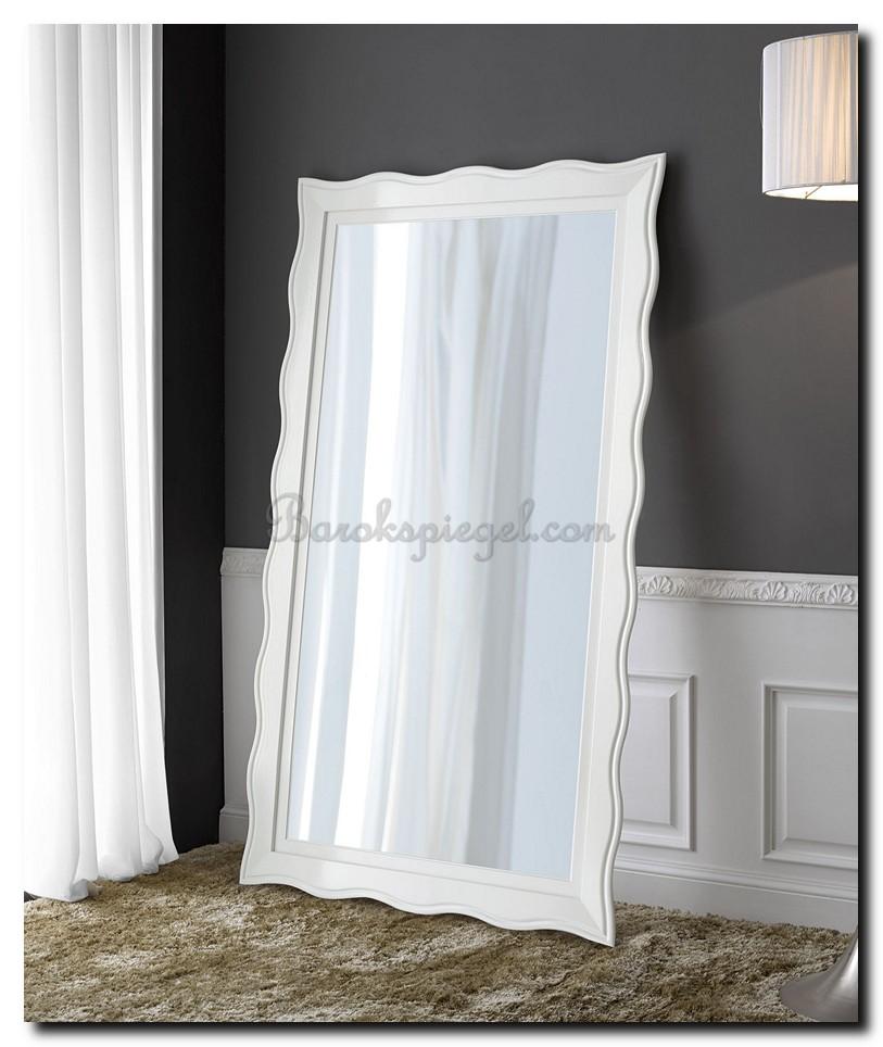 Grote witte spiegel als woonaccessoire tips idee n en for Grote barok spiegel