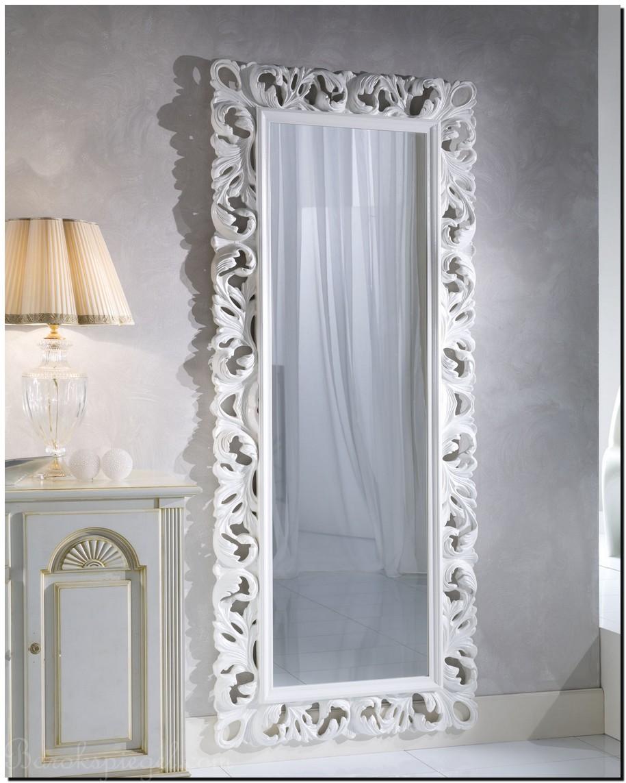 Grote witte spiegel als woonaccessoire tips idee n en for Grote zilveren spiegel