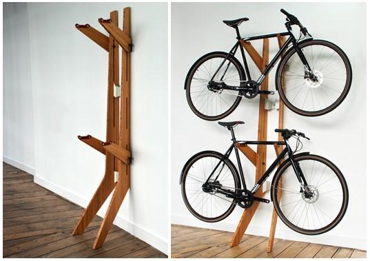 De nieuwste hype: hang je fiets aan de muur!