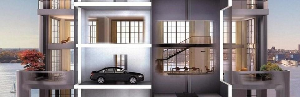 Lift op een mooie manier in huis verwerken sfeer en living - Deco gang huis ...