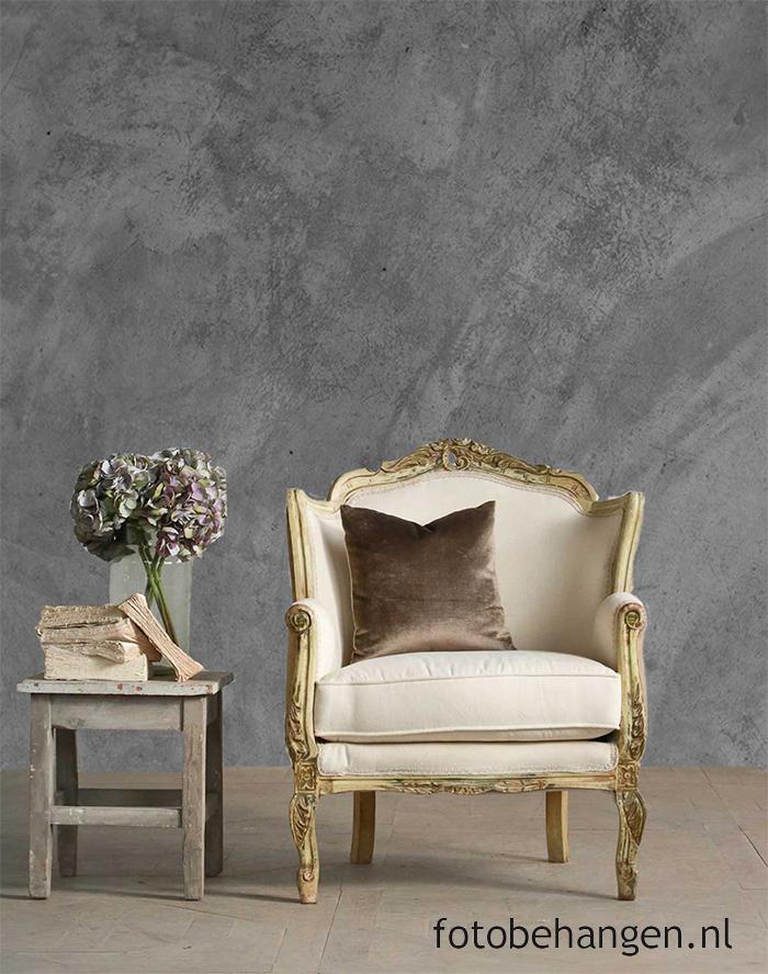 Steen en hout behang voor een industriële look in je interieur ...