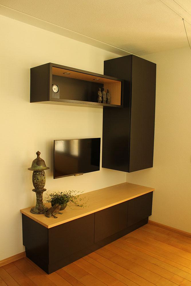 houten tv meubel op maat