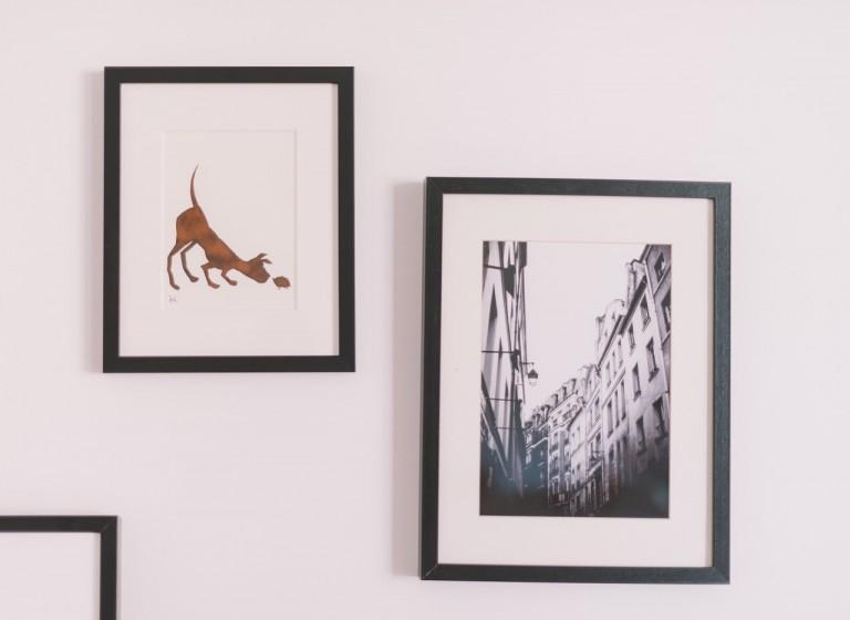 Maak je woonkamer gezellig met muurdecoratie