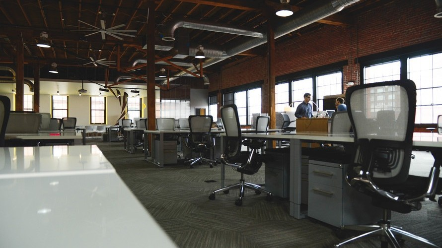 goede sfeer kantoorruimte