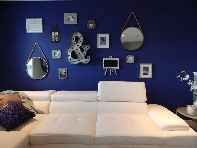 Donkere muur in de woonkamer - Sfeer en Living
