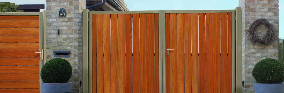 Wonderlijk Handige tips voor de aanschaf van een houten poort - Sfeer en Living GO-88