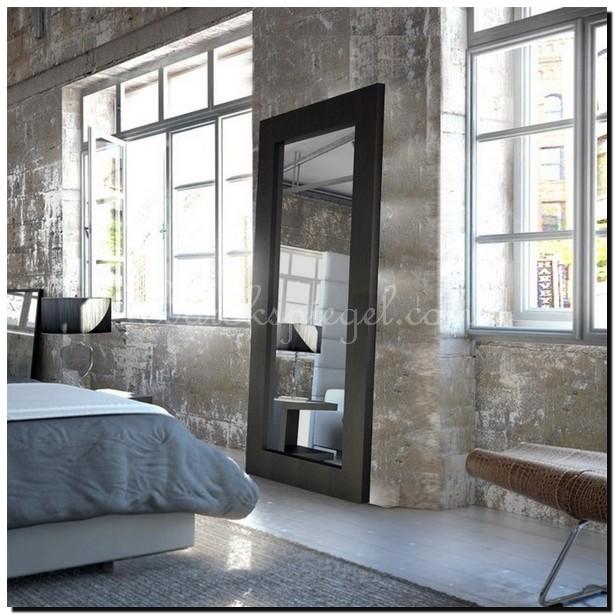 Amazing vaak een grote spiegel in huis tips ideen en for Spiegels zonder lijst