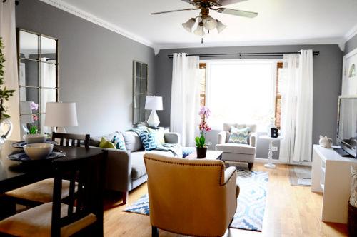 Tips om je woonkamer groter te laten lijken