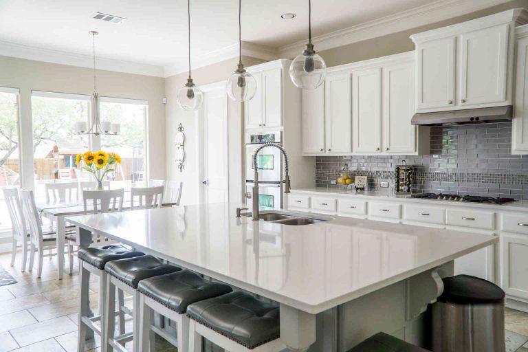 Nieuwe trend: marmeren keukenbladen