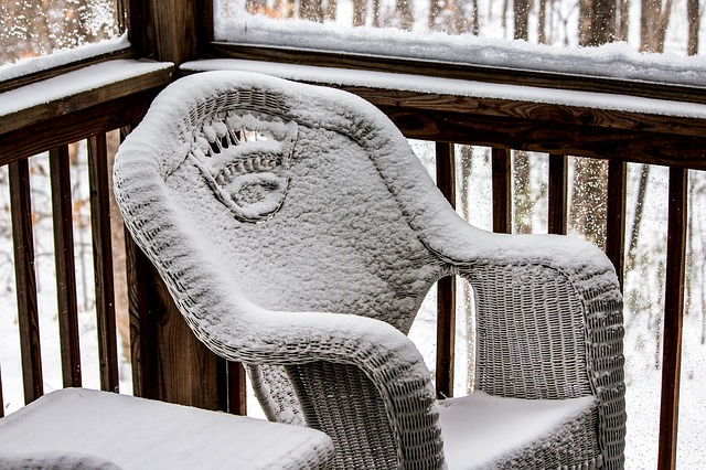 Wat te doen met je veranda in de winter?