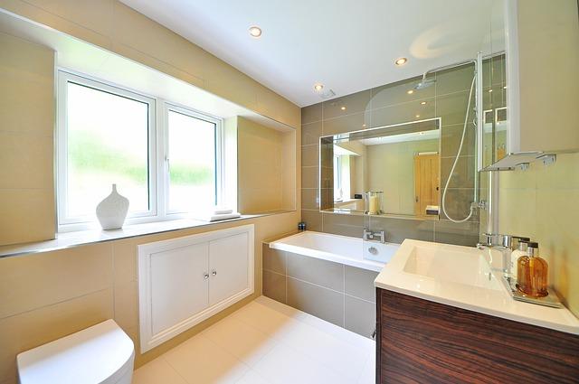 Voordelen van een bad douche combinatie sfeer en living