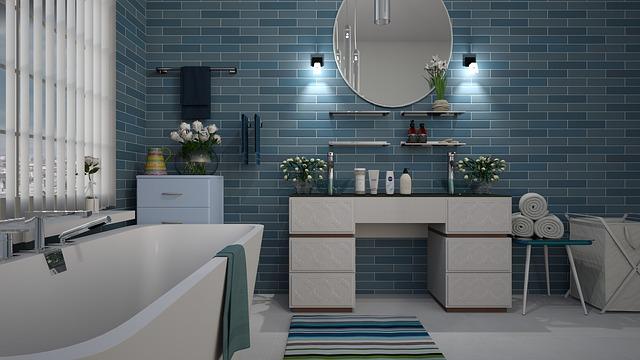 Badkamer Trends Tegels : Badkamertrends van sfeer en living