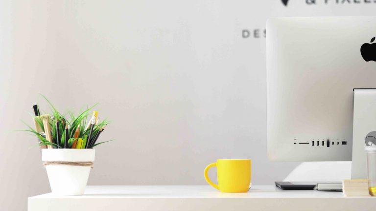 Hoe je kantoor in te richten met weinig geld.