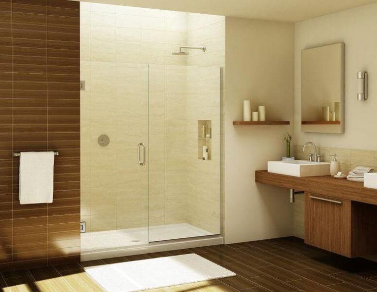 Voordelen glazen douchedeur