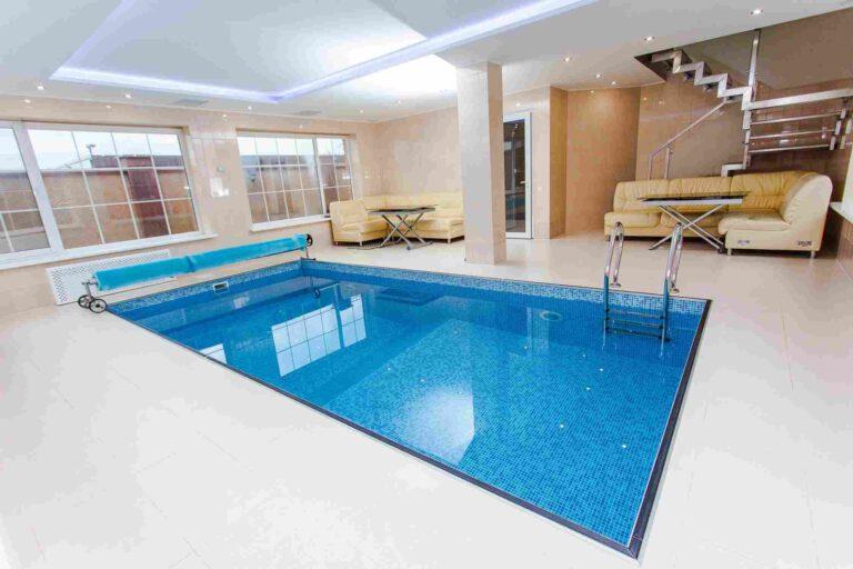 Een goed onderhouden zwembad