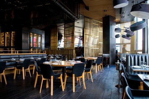 Restaurant inrichting