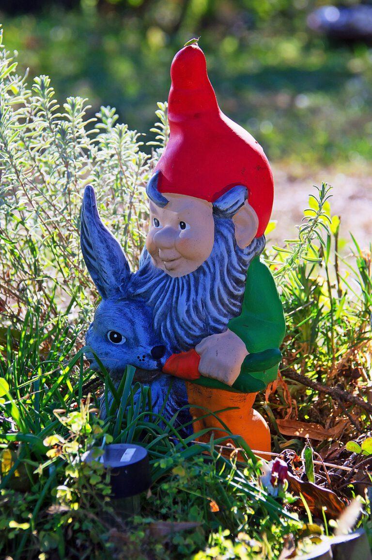 Je tuin opleuken met tuinkabouters
