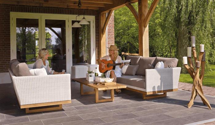 Nieuwe terrastegels voor je tuin
